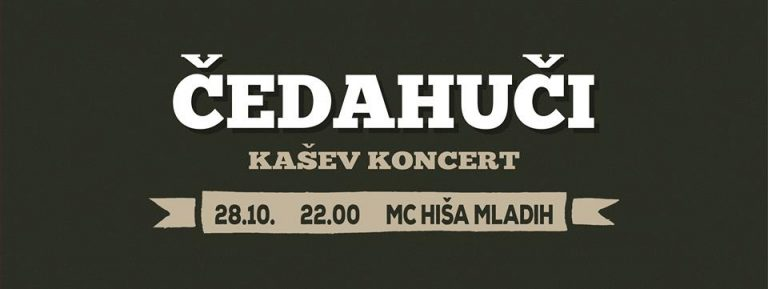 Čedahuči – KAŠev koncert